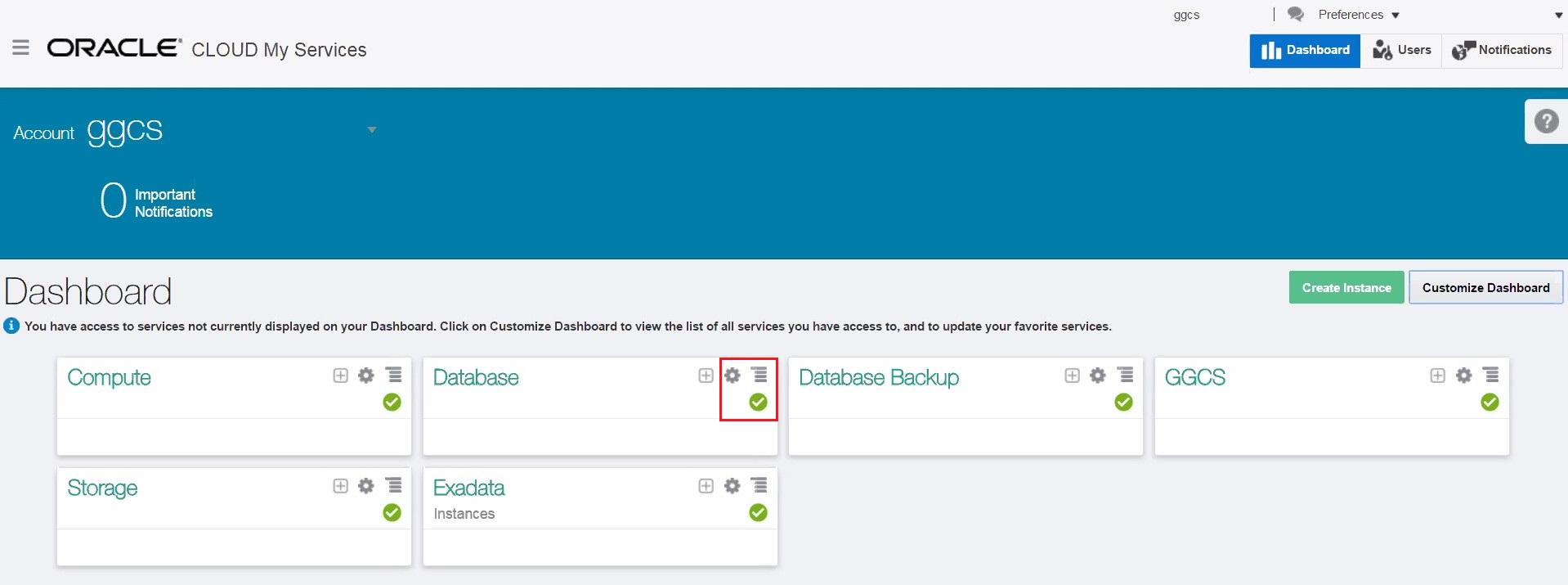 Oracle Database CS: 인스턴스 생성 및 접속 Demo