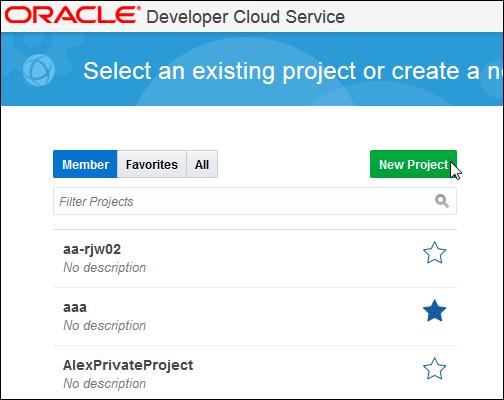 Oracle Developer Cloud - 신기능 자세히 알아보기