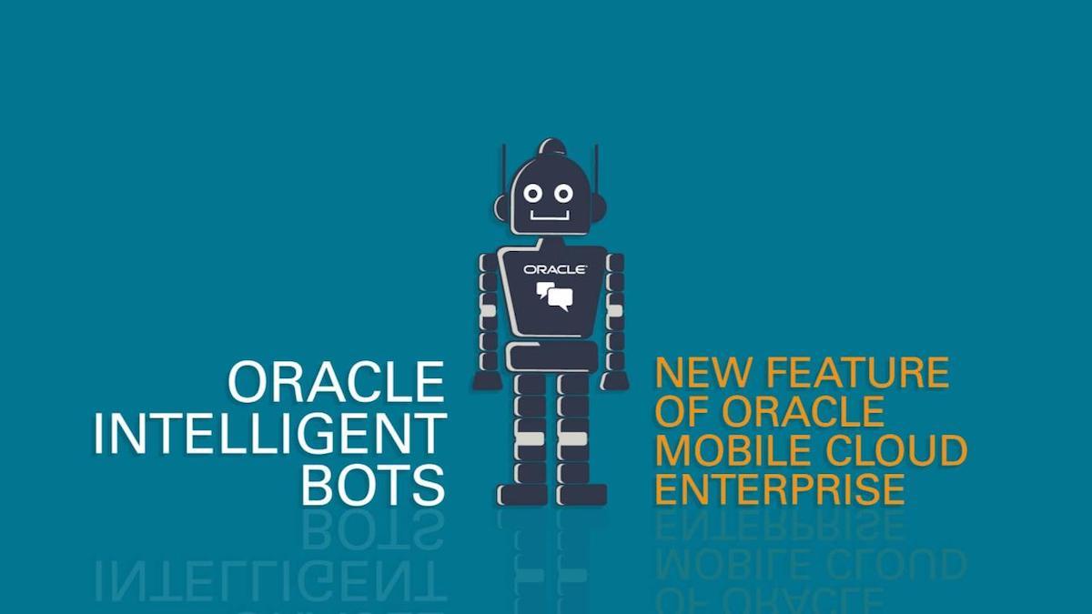 오라클 챗봇 (Oracle Intelligent Bots) 기능 둘러보기